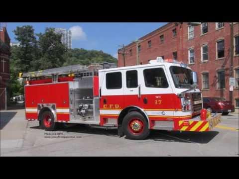 Cincinnati Engine 17 Returning