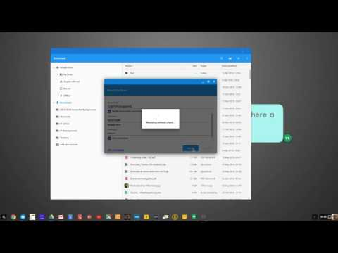 Network File Share for ChromeOS