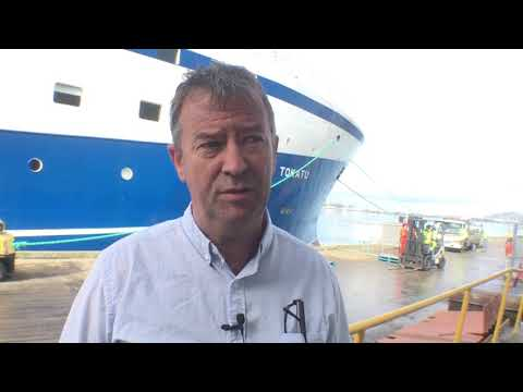Newest And Largest NZ Fishing Boat Calls In To Dunedin