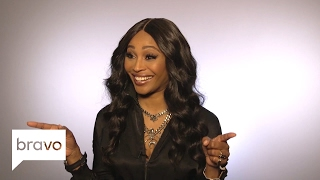 RHOA: Cynthia Bailey Gives a Sneak Peek at the the RHOA Season 9 Reunion (Season 9) | Bravo