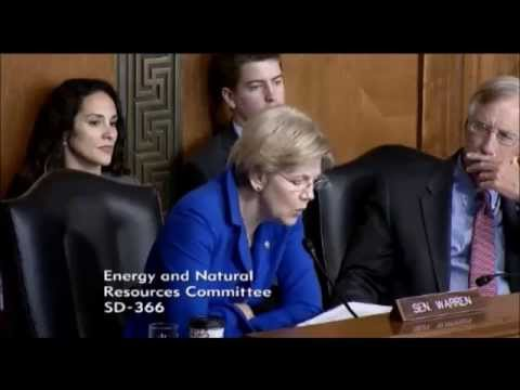 Senator Elizabeth Warren - The Reauthorization and Reforms to the Land and Water Conservation Fund