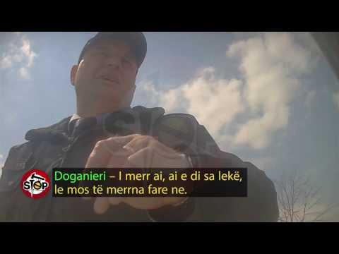 """Stop - """"Rilindja"""" e doganës, me 300 euro fut makina të vjedhura në pikën e Morinit! (11 prill 2017)"""