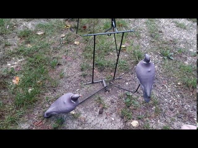 palombe.org - Fabrication d'un balancier à pigeon pour mise en place dans des peupliers