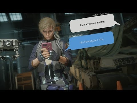Mortal Kombat 11 : Cassie Cage Social Media Intro On All Characters from YouTube · Duration:  13 minutes 26 seconds
