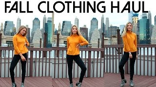 HUGE Fall Clothing Haul 2016 | Try On! UO, Thrifting, Aldo & More