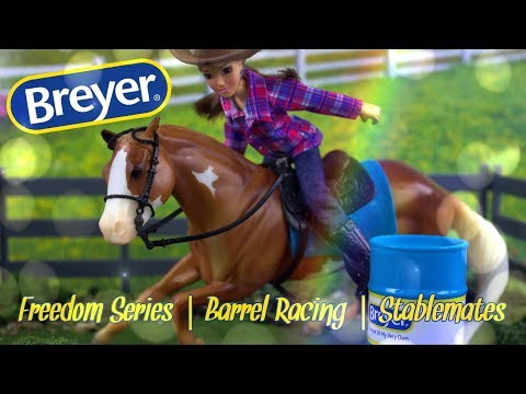 Unbox Daily: Breyer Horse Freedom Series PLUS Barrel Racer & We Paint Stablemates