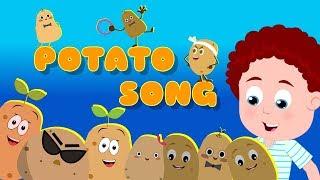 Potato Song | Schoolies Cartoons | Kindergarten Nursery Rhymes For Children