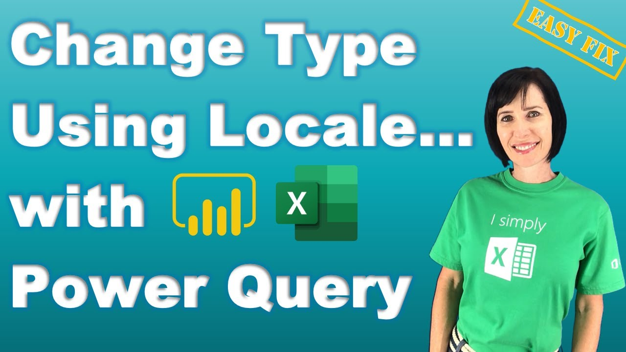 Power Query Change Type Using Locale