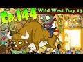 Plants vs. Zombies 2 || New Zombie Bull - Wild West Day 13 (Ep.144)