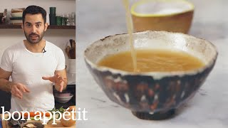 Andy Makes the Most Flavorful Vegan Broth Ever | Bon Appétit