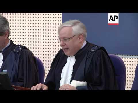 Europe court: Tymoshenko jailing was rights abuse