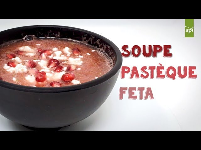 Summer Soups Party : Pastèque & Féta