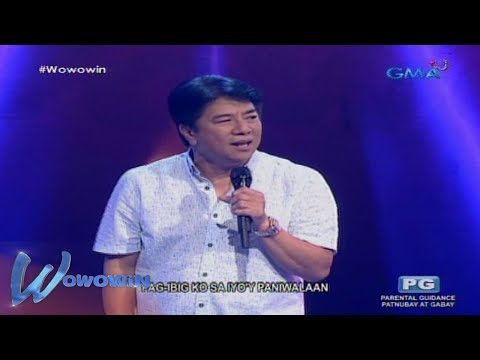 Wowowin: Willie Revillame performs his song