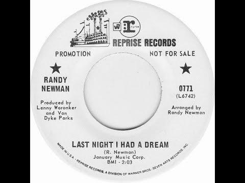 Randy Newman - Last Night I Had A Dream (single version)