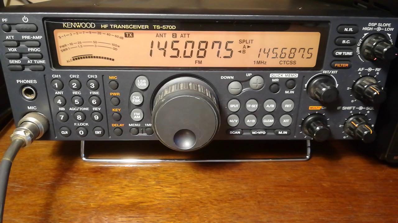 TS-570 and my Cheap eBay 2 MTR Transverter