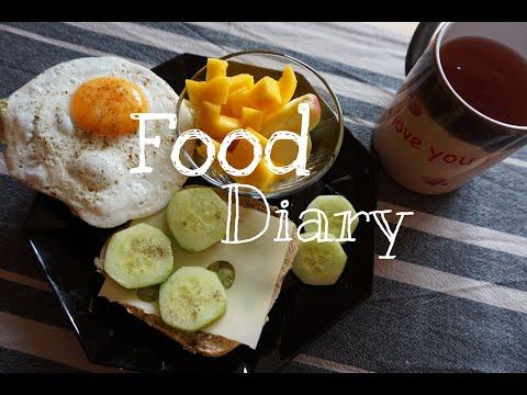 FOOD DIARY | Das Esse Ich In Einer Woche Auf Arbeit