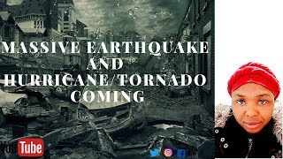 MASSIVE EARTHQUAKE AND HURRICANE/TORNADO COMING. GOD'S WRATH WILL FALL. REPENT!!!