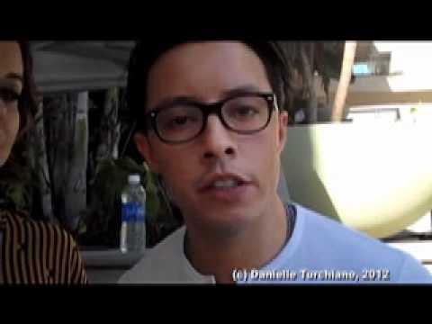 Tina Majorino and Efren Ramirez p FOX' animated 'Napoleon Dynamite'