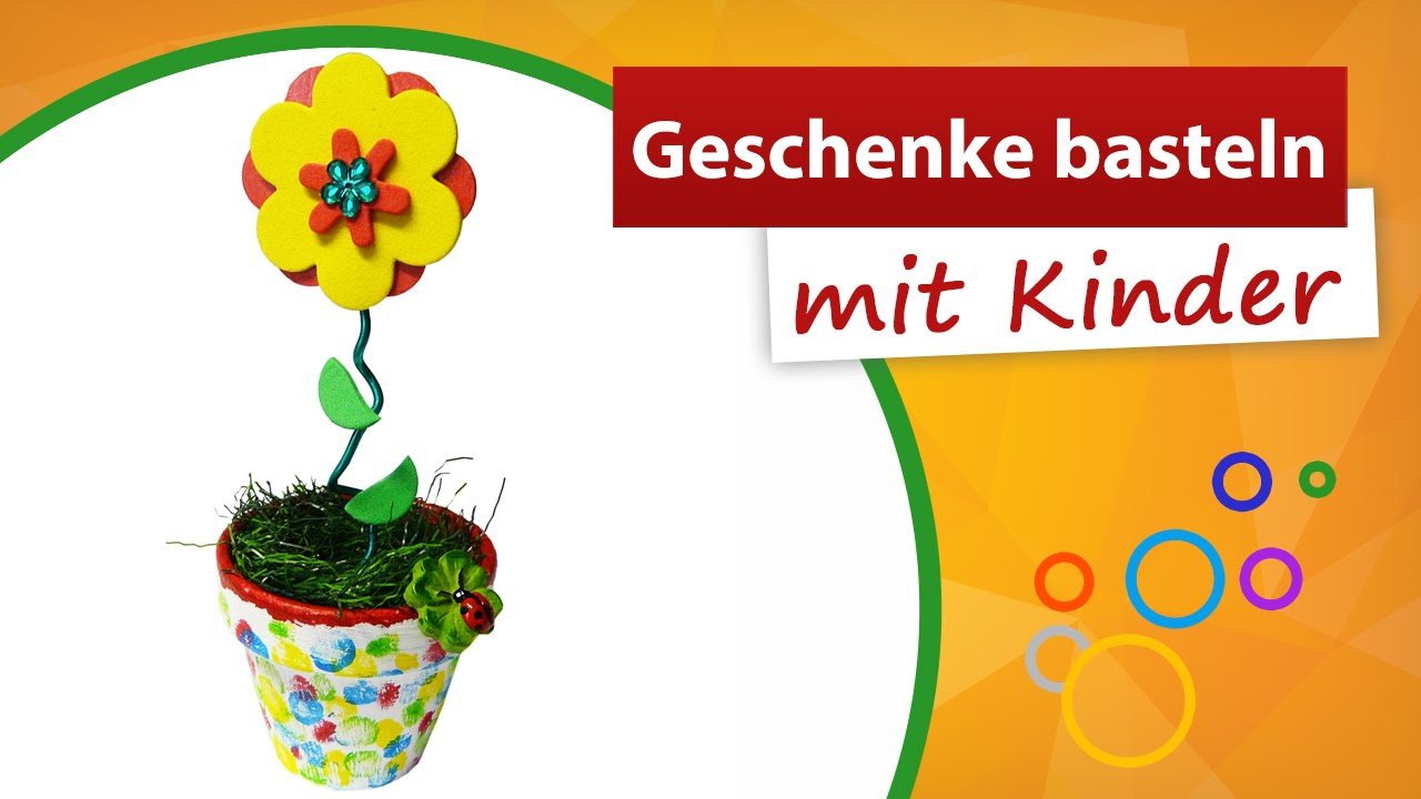 geschenke basteln mit kindern trendmarkt24 kindergarten bastelideen youtube