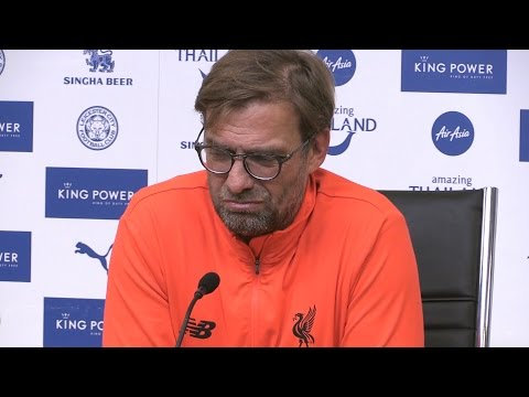 Leicester 3-1 Liverpool - Jurgen Klopp Full Post Match Press Conference
