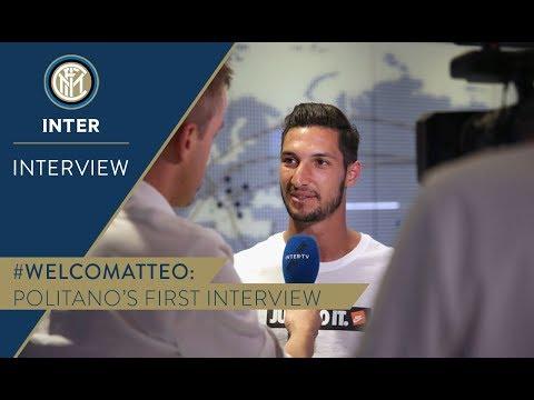 MATTEO POLITANO | First Inter TV Interview | #WelcomeMatteo! 🎙️⚫️🔵