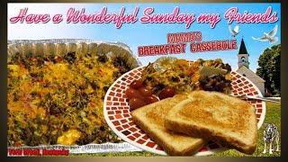 Moms  Breakfast Casserole