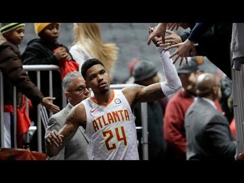 Kent Bazemore Game Winner vs Pelicans Over Anthony Davis! 2017-18 Season