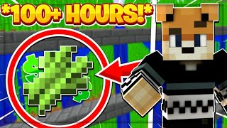 So I Farmed Sugar Cane for 100 HOURS!! -- Hypixel Skyblock
