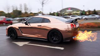 One of EzekielGamingHD's most viewed videos: GETTING MY NISSAN GTR ARMYTRIX EXHAUST + CRAZY LOUD GTR FLAMES!!