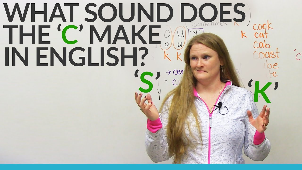 Learn English  Does the C sound like S or K  - YouTube 16028fb2e81