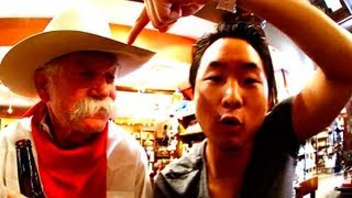 Testicles & Fort Worth Stockyards - The Fung Brothers Mess With Texas