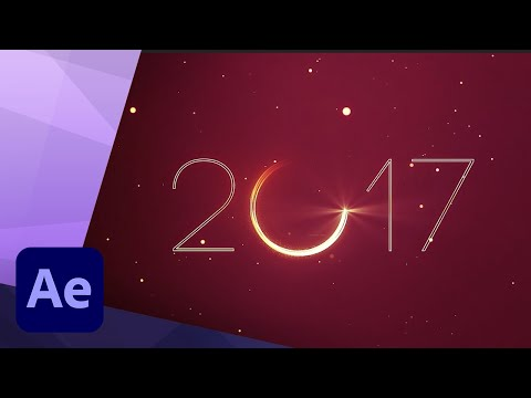 NEW YEAR PROMO in AFTER EFFECTS TUTORIAL