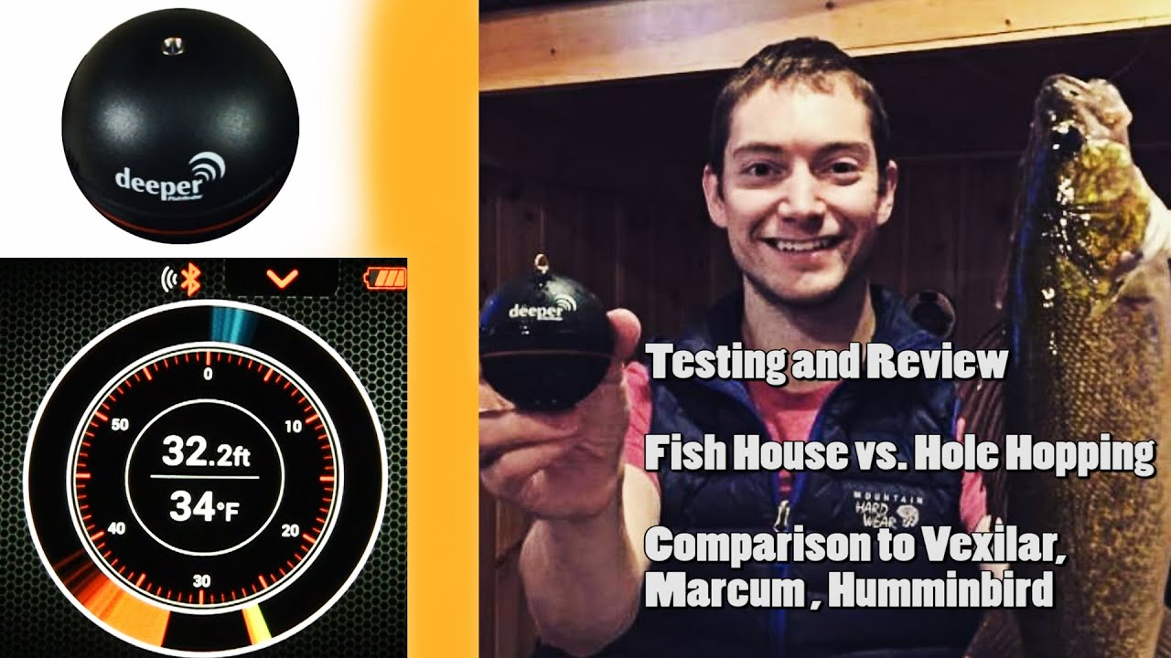Deeper fish finder review ice fishing sonar youtube for Deeper fish finder review