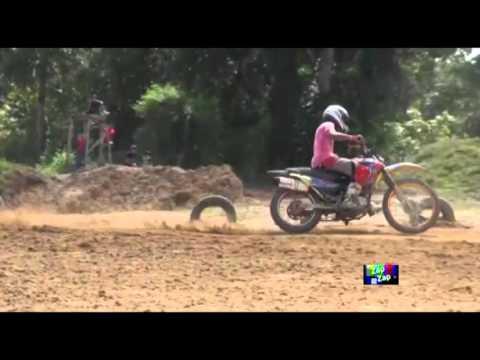 Motocross em Porto grande no Amapá