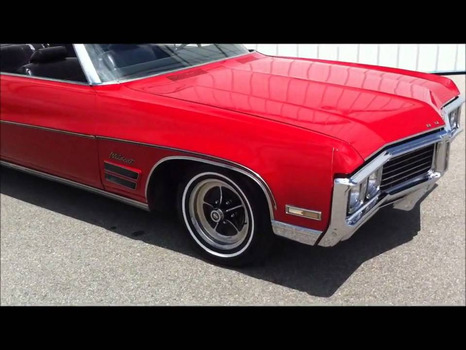 1970 buick wildcat convertible 455 v8 rust free for sale youtube. Black Bedroom Furniture Sets. Home Design Ideas