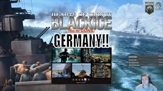 HoI4 - MOD: BlackICE Historical Immersion - Let's play Germany!