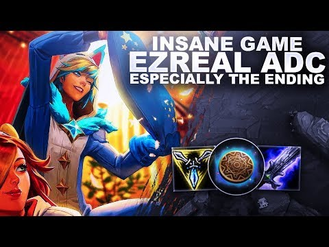 AN INSANE GAME ON EZREAL ADC! ESPECIALLY THE END! | League of Legends thumbnail