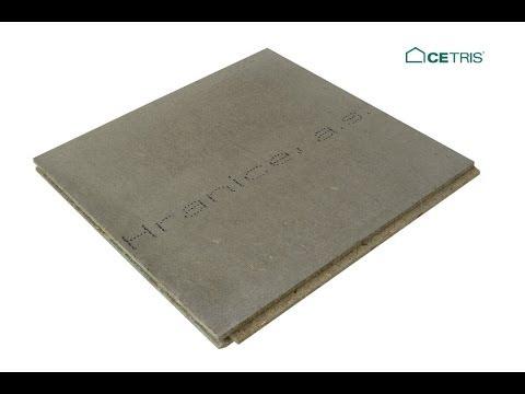 Podlahové desky cetris