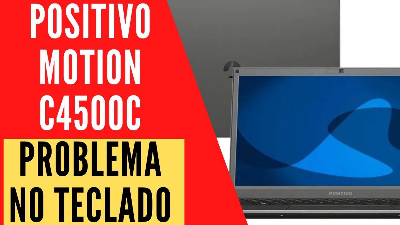 Positivo Motion C4500C teclado