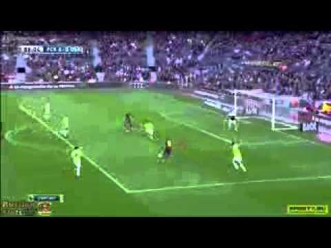 HAT-TRICK MESSI Barcelona vs Osasuna 7-0   16.03.2014