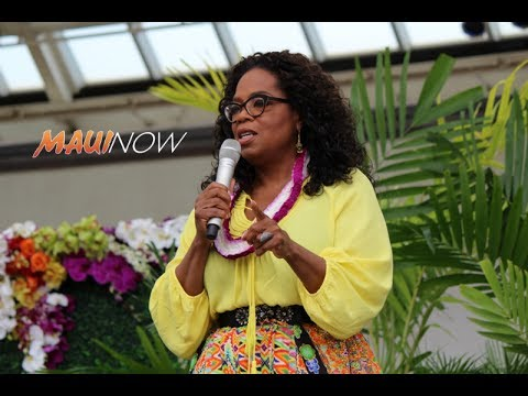 "Oprah Shares Message on Maui to ""Live Your Best Life"""