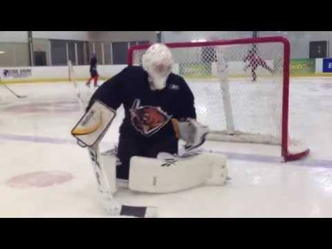 Goaltender Crease Conditioning Training