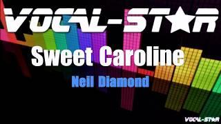 Neil Diamond - Sweet Caroline (Karaoke Version) with Lyrics HD Vocal-Star Karaoke