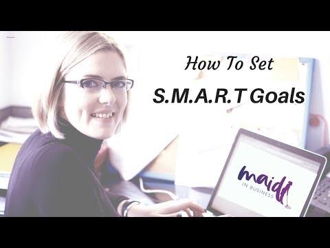 How To Set SMART Goals For Business With Free Worksheet