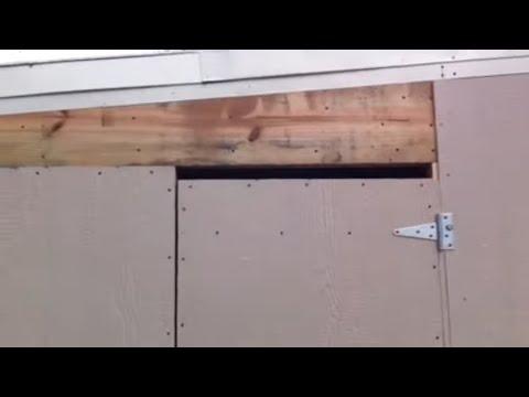 close in a carport  4/4
