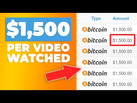 Get $15,000 In Free Bitcoin Watching Videos! (Get 1 BTC Per Day)