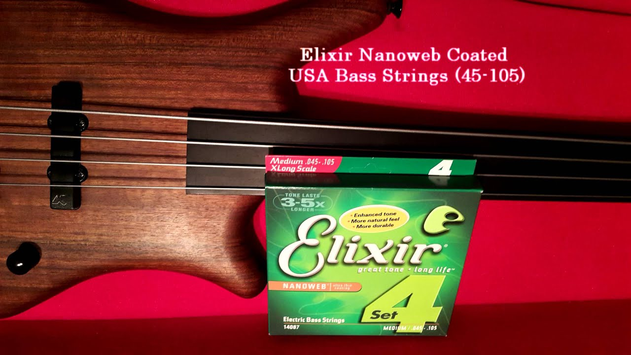 comparison of sound bass guitar strings elixir 14087 vs ernie ball 2806 youtube. Black Bedroom Furniture Sets. Home Design Ideas