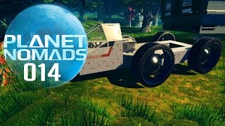 PLANET NOMADS [014] [Fahrzeug craften] Let's Play Gameplay Deutsch German thumbnail