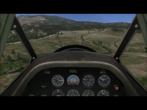 T6 landing at CO47 Gypsum Creek Ranch