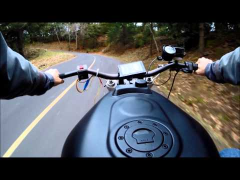 Electric Motorcycle Conversion Part 9 First Ride!!!